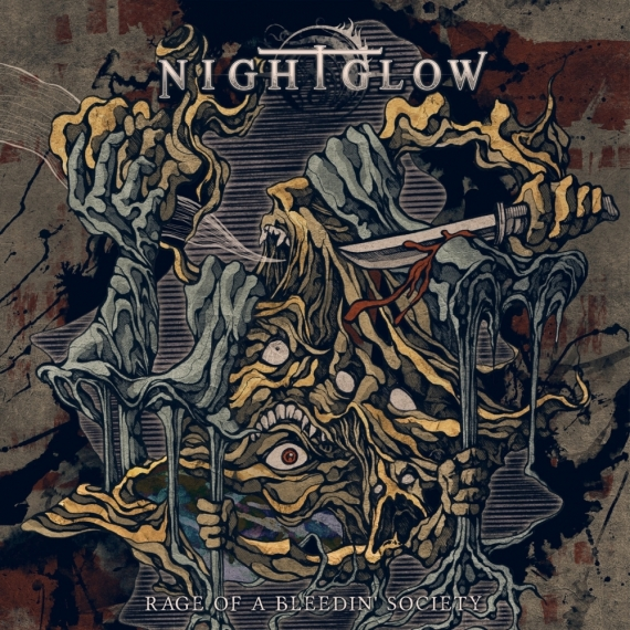Nightglow - Rage Of A Bleedin' Society -