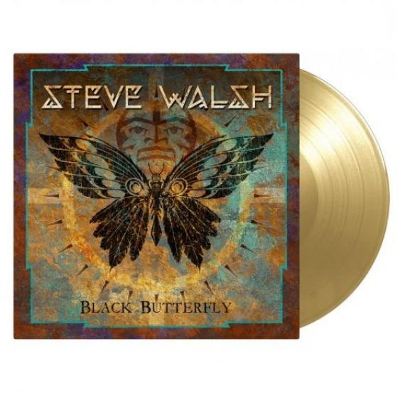 Steve Walsh - Black Butterfly (+2 BONUS TRACKS) - Gold Vinyl 180gr. - Limited Numbered Edition 1000 copies